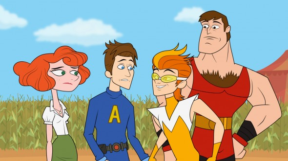 The Awesomes season two on Hulu