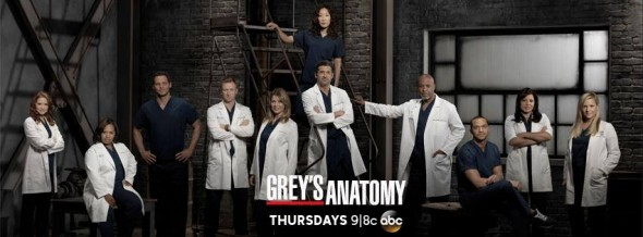 Grey\'s Anatomy latest ratings