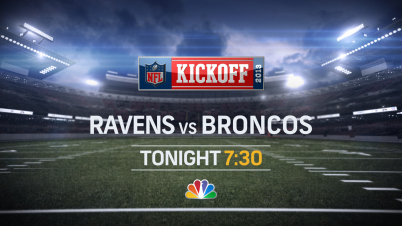 NFL Kickoff Ravens vs Broncos on NBC