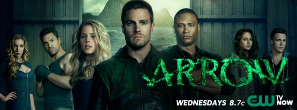 Arrow season two ratings