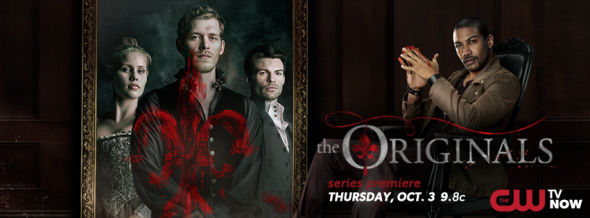 The Originals on CW: premiere ratings