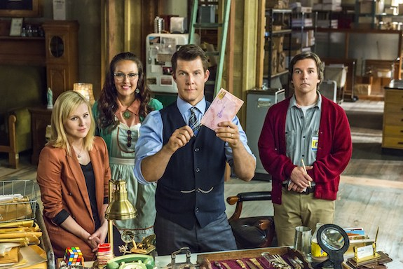signed sealed delivered one in a million full cast