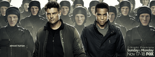 almost human tv show ratings