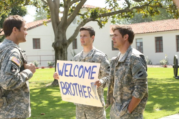 Enlisted sitcom ratings
