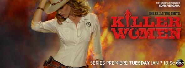 Killer Women TV show ratings