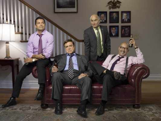 Alpha House TV show on Amazon: season 2 (season 3 canceled or renewed?).