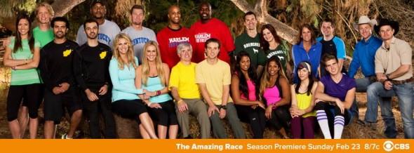 Amazing Race on CBS ratings