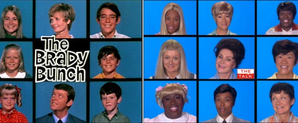 Brady Bunch reunion on The Talk