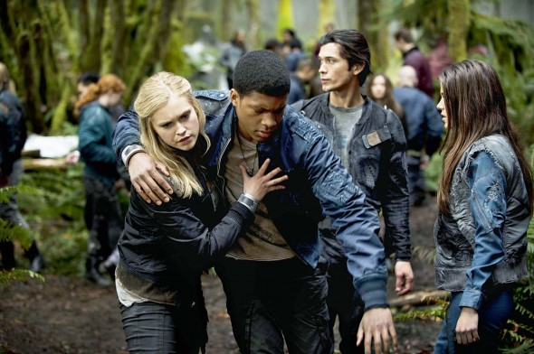 The 100 on CW ratings
