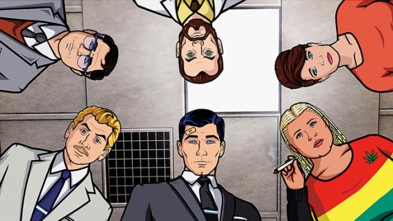 archer fx cast to perform new episode at comic con canceled tv