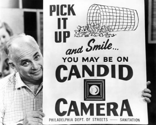 Candid Camera creator Allen Funt