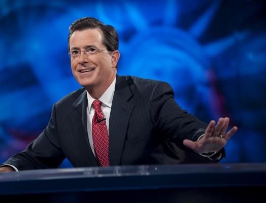 Stephen Colbert Late Show host