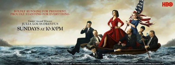 Veep TV show on HBO ratings