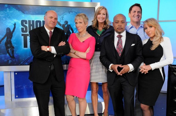 Shark Tanks: Swimming with the Sharks
