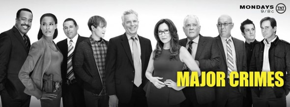 Major Crimes TV show on TNT season 3 ratings