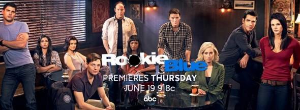 Rookie Blue TV show on ABC: season five ratings