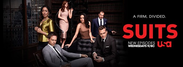 Suits TV show on USA season four ratings