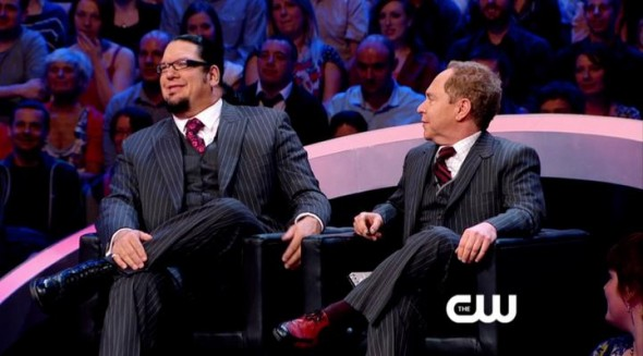 Penn and Teller Fool Us TV show on CW
