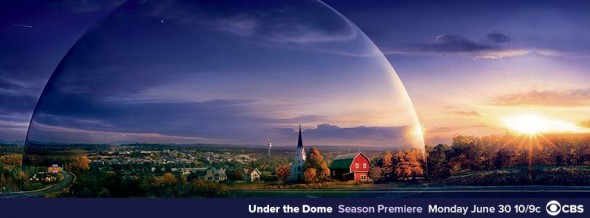 Under the Dome TV show on CBS: season two ratings