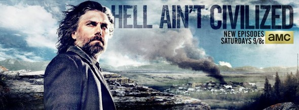 Hell on Wheels TV show on AMC: ratings