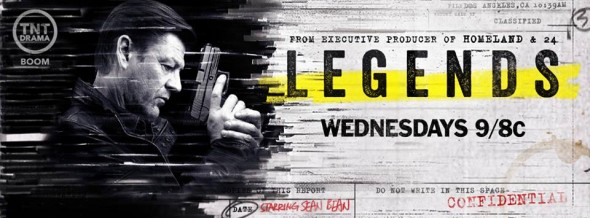 Legends TV show on TNT: latest ratings