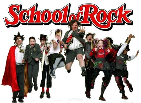 School of Rock TV show on Nickelodeon