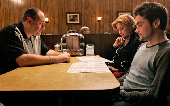 The Sopranos TV show finale