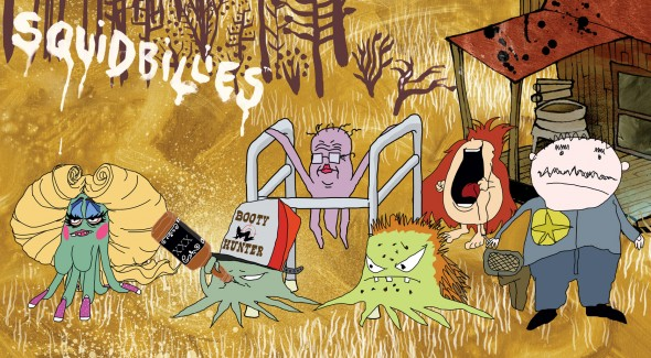 Squidbillies TV show on Adult Swim
