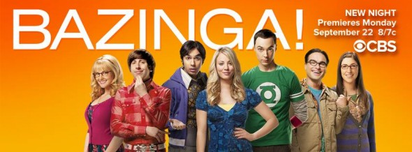 The Big Bang Theory TV show on CBS
