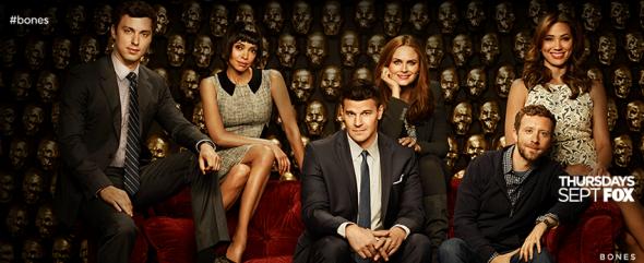 Bones TV show on FOX ratings