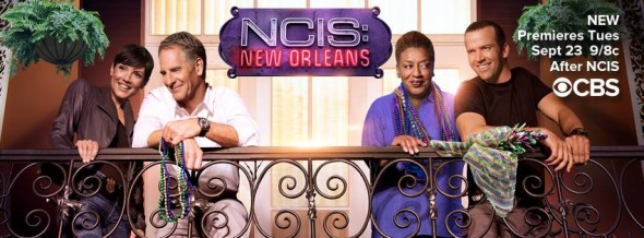 NCIS: New Orleans TV show on CBS ratings