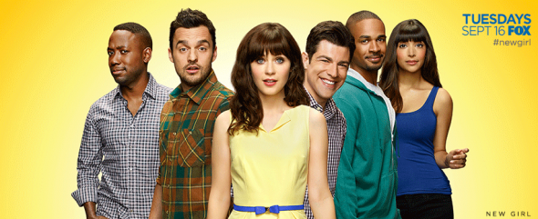 New Girl TV show on FOX: season 4 ratings