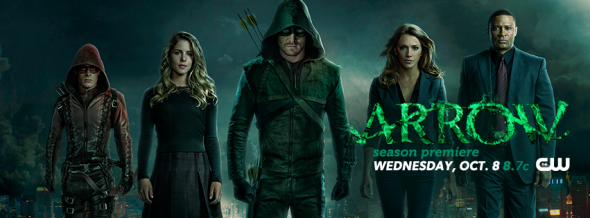 Arrow TV show on CW: ratings (cancel or renew?)