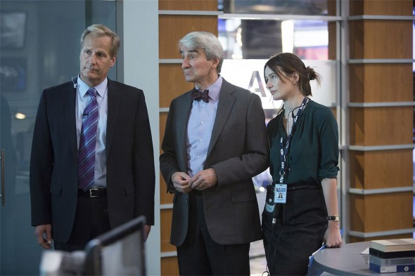 The Newsroom TV show on HBO: season 3