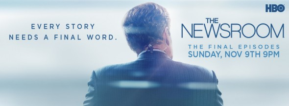 The Newsroom TV show on HBO: ratings