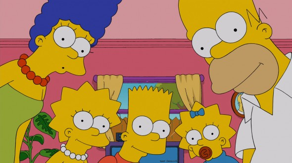 The Simpsons TV show season 27?