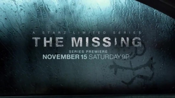 The Missing TV show on Starz: canceled or renewed?