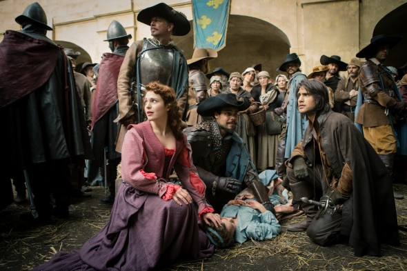 The Musketeers TV show season 2