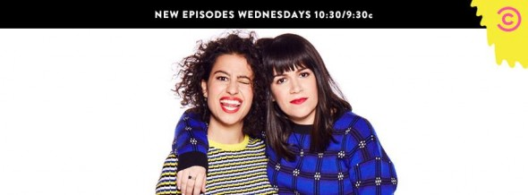 Broad City TV show on Comedy Central ratings: cancel or renew?