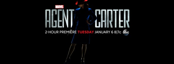 Agent Carter TV show ratings (cancel or renew?)