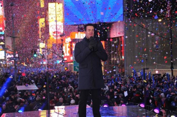 NBC's New Year's Eve with Carson Daly TV show ratings