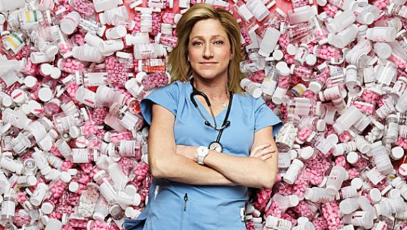 Nurse Jackie TV show on Showtime ending