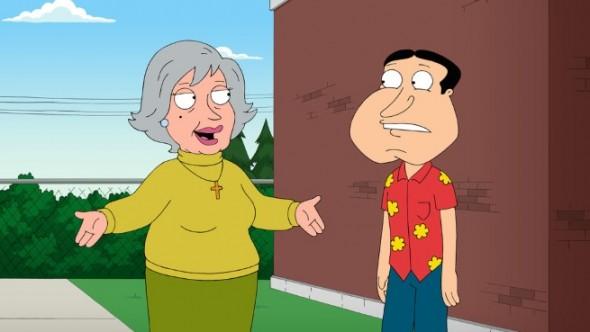 Family Guy TV show ratings