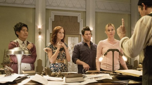 The Librarians TV show on TNT: season 2