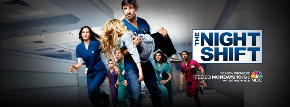 The Night Shift TV show on NBC: ratings (cancel or renew for season 3?)