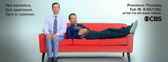 The Odd Couple TV show on CBS ratings (cancel or renew?)