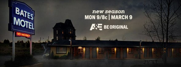 Bates Motel TV show on A&E: season 3 ratings (cancel or renew?)