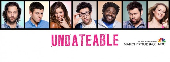 Undateable TV show on NBVC: ratings (cancel or renew?)
