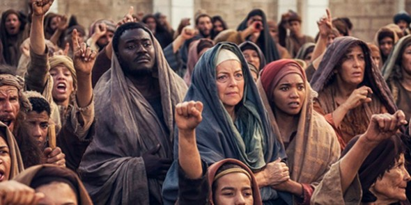 AD: The Bible Continues TV mini-series on NBC