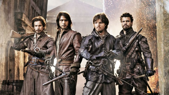 The Musketeers TV show on BBC America (canceled or renewed?)